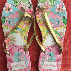 VGUC Lilly Pulitzer for Target sz7 nosey posey